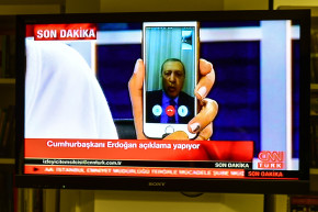 President Erdogan, Turkish People Use Technology To Broadcast Coup
