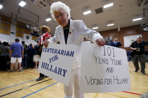 Happy Grandmas Briefly Ruled The Internet After Hillary's Nomination
