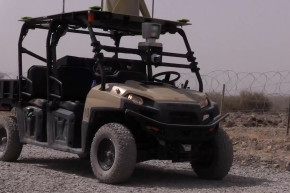 Meet The Military's Robot Golf Cart