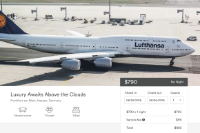 Lufthansa Will Let You Book Flights On Airbnb For Some Reason