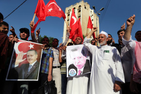 Erdogan Praised Across Region As Turkey Coup Falters