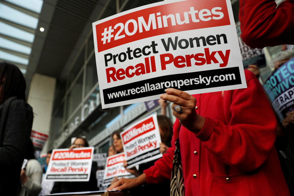 Brock Turner Judge Will No Longer Hear Criminal Cases