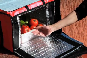 Electricity-Free Refrigerator Sweats To Keep Cool
