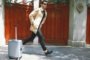 This Suitcase Follows You Like A Loyal Dog
