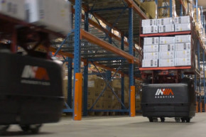 Robots Run The Floor At This Warehouse