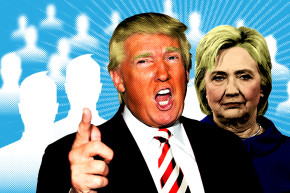 How Clinton And Trump Share Content On Facebook