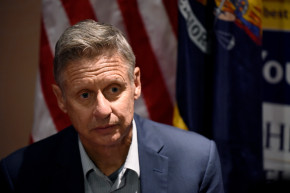 Gary Johnson's Latest Gaffe Has Even His Supporters Cringing