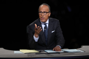 Debate Watchers Ask 'But Where Was Lester Holt?'
