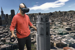 Stomp Around A City Like Godzilla With This VR Headset