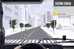 Super Quiet Bus Honks Autonomously To Warn Pedestrians
