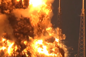 SpaceX Explosion Destroys Facebook Satellite