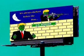 Trump-Inspired Pepe The Frog Billboards To Hit Battleground State