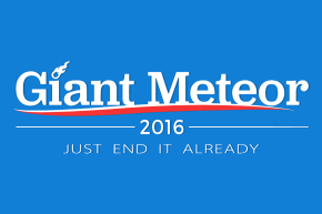 A Quarter Of Millennials Prefer Death By Meteor To This Election