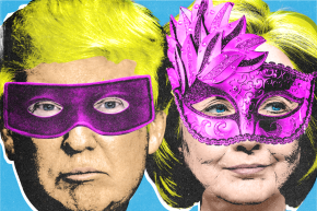 Forget Polls: Halloween Masks And Football Predict The Election