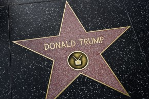 Trump's Hollywood Walk Of Fame Star Has Been Destroyed