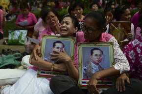 Death Of Thailand's King Prompts Bizarre Ban On Cheering