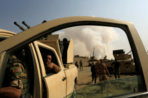 Forces Push Closer To ISIS-Held Mosul