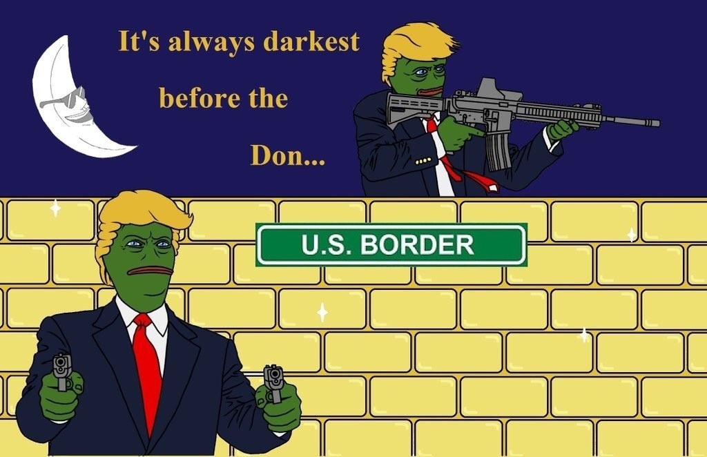 Pepe Donald Trump Pennsylvania Billboard Wesearchr