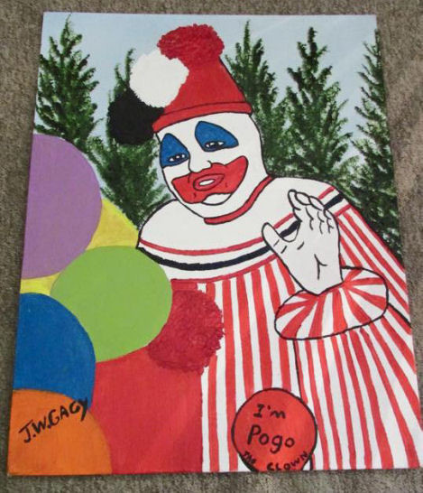 pogotheclownpainting