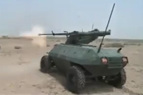 Iraq's Anti-ISIS Robot Defends Mosul