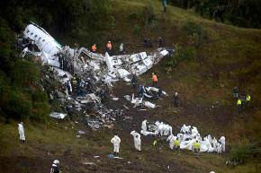Plane Carrying Chapecoense Soccer Club Crashes