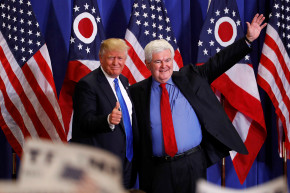 Newt Gingrich Adds $15K To Speaking Fees For His 'Insight' Into Trump