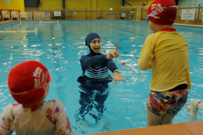 German Court: Swimming Lessons Mandatory For Muslim Girl