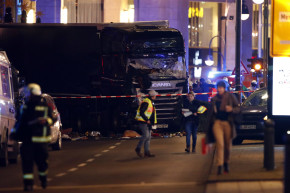 Truck Rams Into Crowd At Berlin Christmas Market, Killing 12