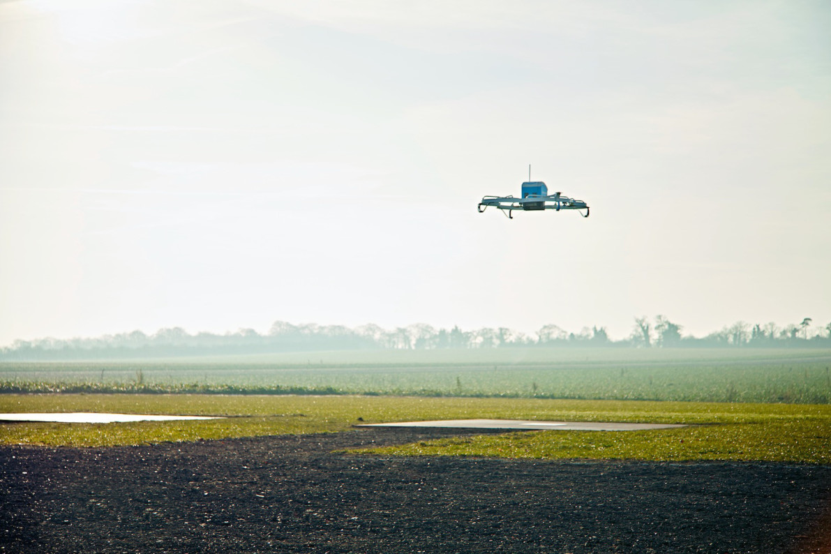 Amazon makes its first Prime Air drone delivery to a customer