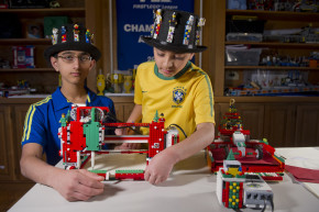 These Lego-Robot Whiz Kids Are Just 12 And 14