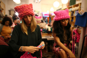 Women's March Inspires Anti-Trump Artisanal Products, Artwork