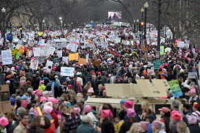 Women's March Puts Trump Inauguration To Shame