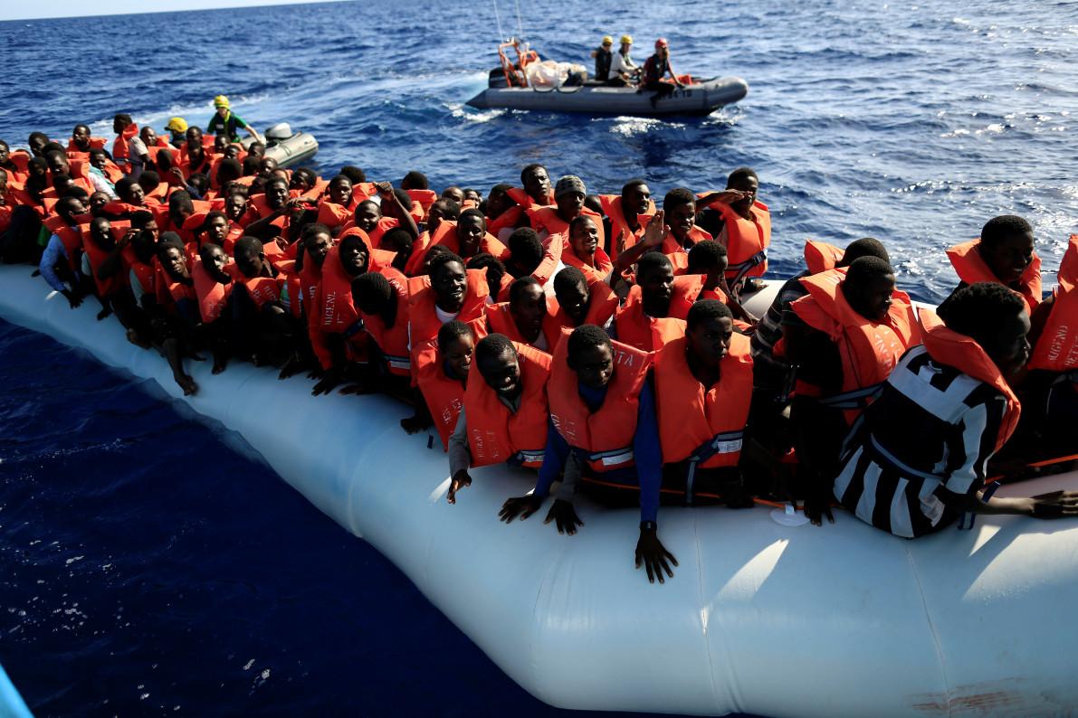 Dozens of migrants drown off Libya