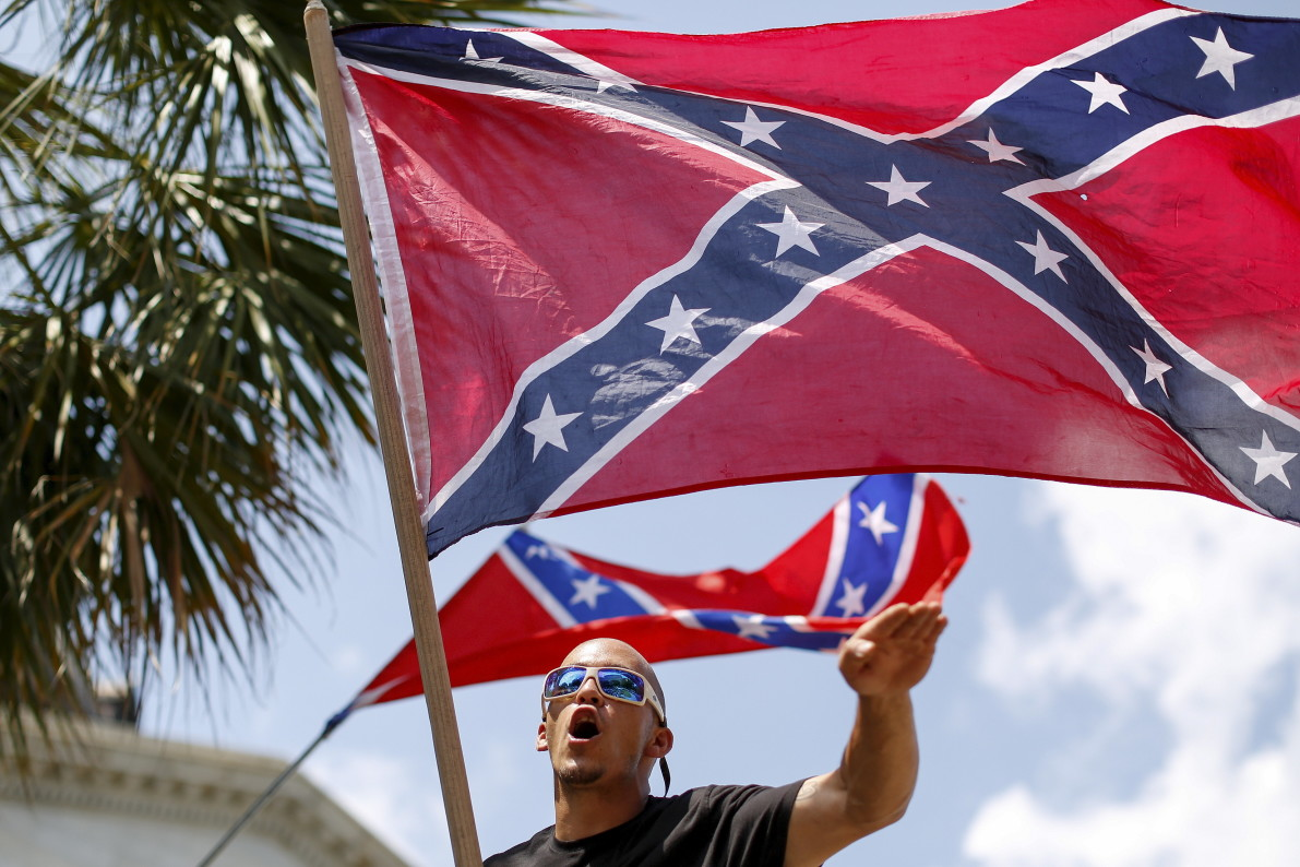 Clash Over Confederate Flag in Charleston