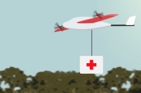 A Fleet Of Life-Saving Semi-Autonomous Flying Robots