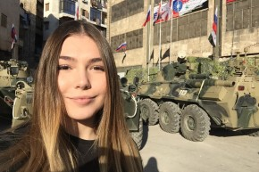 Russian Bodybuilding Teen On A Bizarre Tour Of Syria