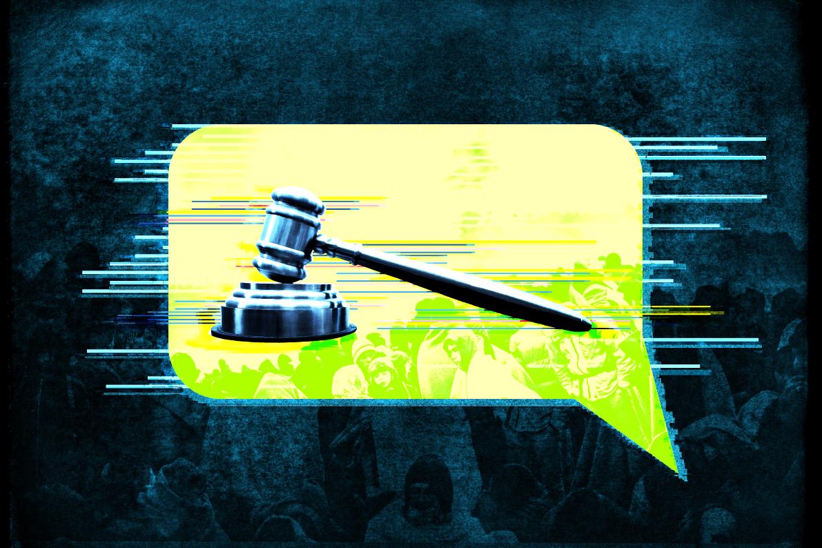 technology chatbot donotpay refugees claim asylum legal