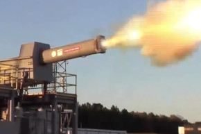 This Electromagnetic Railgun Fires Ammo At 4,500 MPH