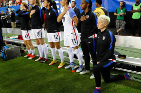 US Soccer Forces Players To Stand For The National Anthem
