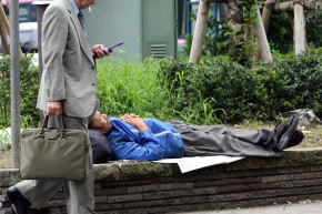 Tokyo Rounds Up The Homeless In Advance Of Olympics