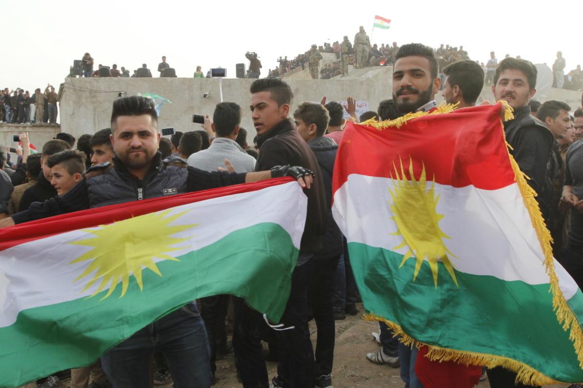 Kurdish regional flag triggers row in Iraq's Kirkuk
