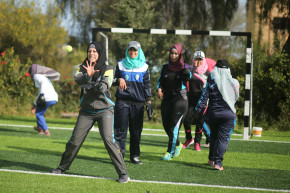 Testing Taboos, Palestinian Women In Gaza Take On Baseball