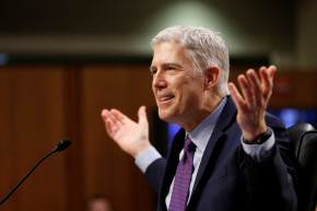 After A Rough Week For Trump Fans, Gorsuch Hearing's A Bright Spot