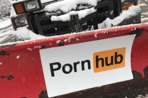Pornhub Plows Boston, New Jersey During Snowstorm