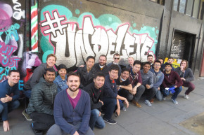 Uber Employees Help Create Tone-Deaf '#Undelete' Mural