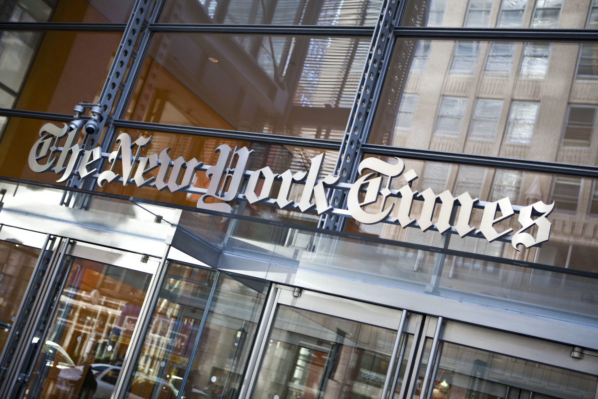 'New York Times' adds correction to Bret Stephens' climate change op-ed