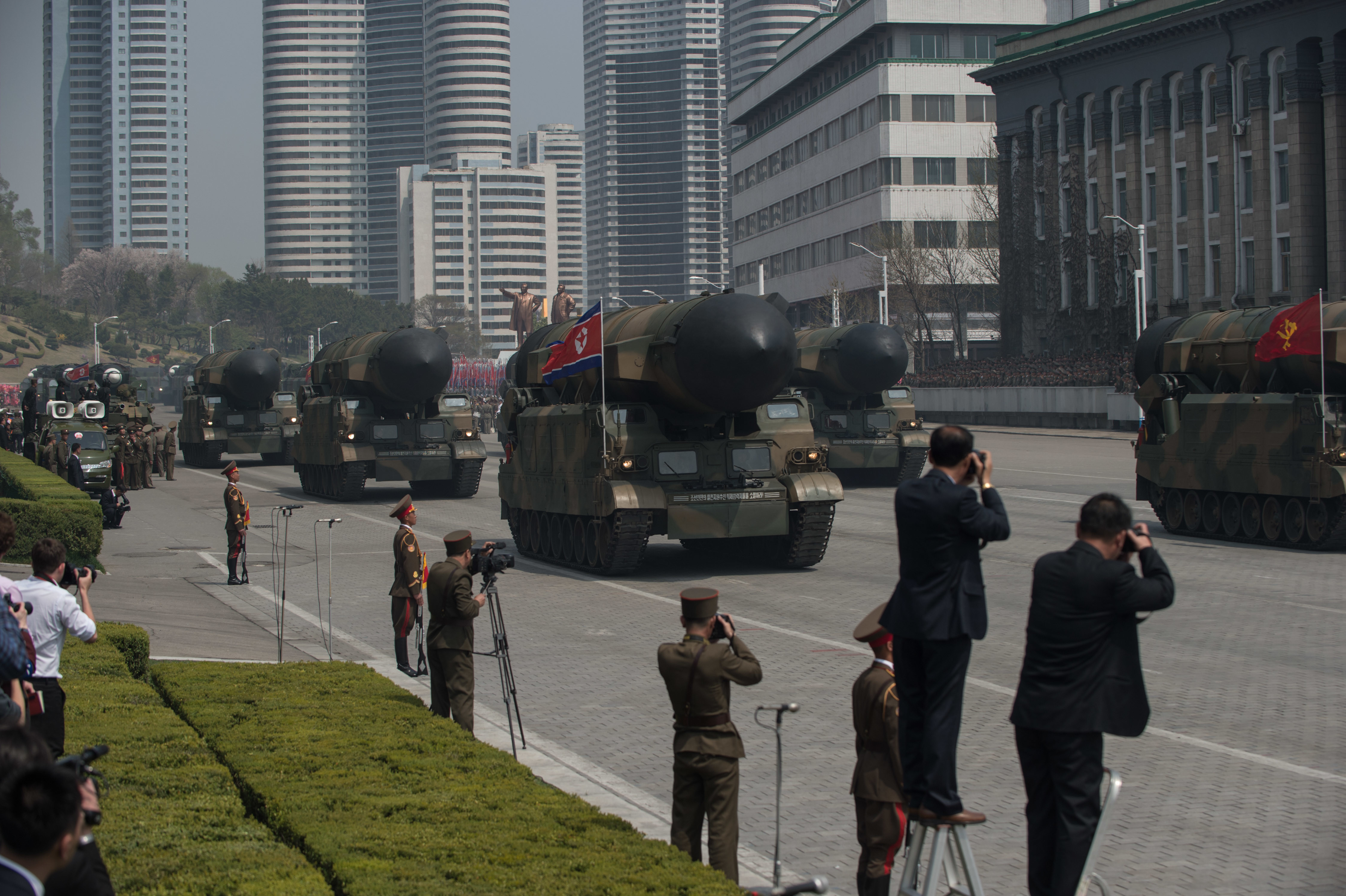 Attempted North Korean Missile Launch Fails, US Confirms