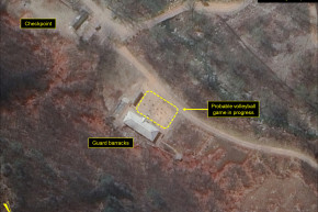 Volleyball Activity Reported Near North Korean Nuclear Site
