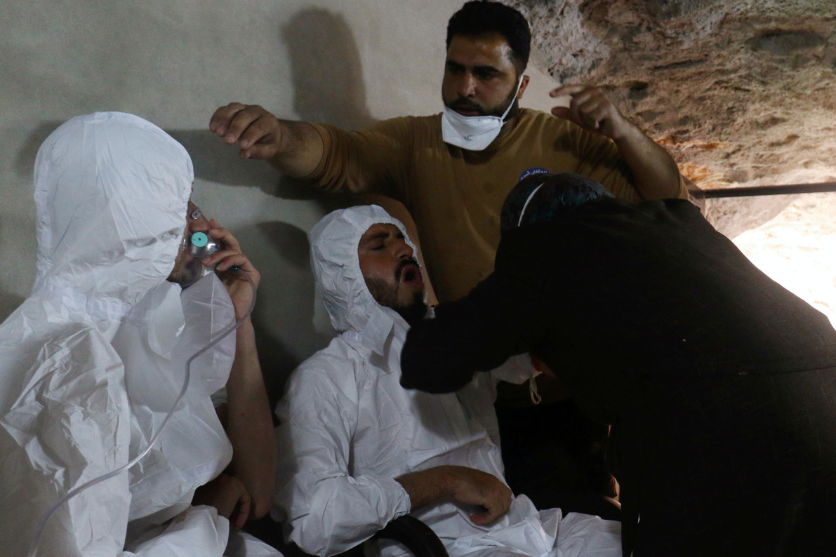 Assad Government Behind Chemical Attack
