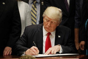 By His 100th Day, Trump Will Have Signed 30 Executive Orders